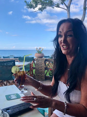 Cocktail Girl Judy (RobW_) Tags: jude ako cocktail freddiesfolks freddiesbar tsilivi zakynthos greece wednesday 15may2019 may 2019