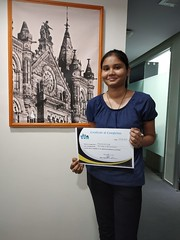 Certification Day of Our Student - Priya Kumari Singh (Vision Upliftment Academy) Tags: webmaster designing development engine workshop web webdevelopment webdevelopmentcourse writing socialmediamarketing visionupliftment vua