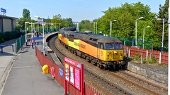 Colas Rail 56087 and 56105 (Strategic Reserve Films - Rory Lushman) Tags: 56087 56105 colasrail class56 grid accrington prestondockslanfinatolindseyoilrefinery bitumen accringtonstation diesel