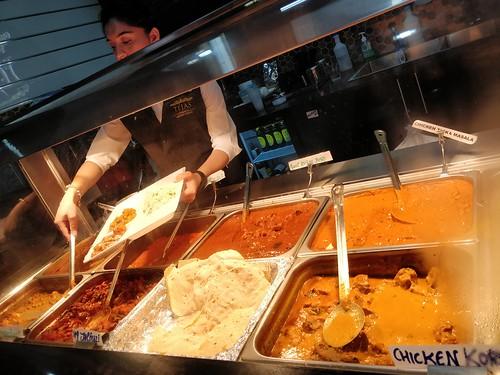 Non-veg curries - Tejas Indian Restaurant, Melbourne - chicken korma, chicken tikka masala, goat rogan josh