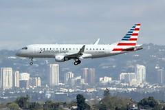 ERJ-175 N216NN Los Angeles 28.03.19 (jonf45 - 5 million views -Thank you) Tags: airliner civil aircraft jet plane flight aviation lax los angeles international airport klax american eagle embraer erj175 n216nn