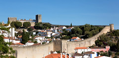 The Walled Village of Óbidos_8270 (hkoons) Tags: estremaduraprovince iberianpeninsula castle city country eburobrittium europe obidos phoenicians portugal abode alley alleyway brick bricks business businesses citadel community construction daylight defense fort fortress grass hill home homes horizon house housing keep knights land landscape lord mote outdoors palace panorama parapet residence residential roads roofs rooftops sky streets sunlight tenants tiles tower town tribe urban urbanites village villagers walled walls óbidos