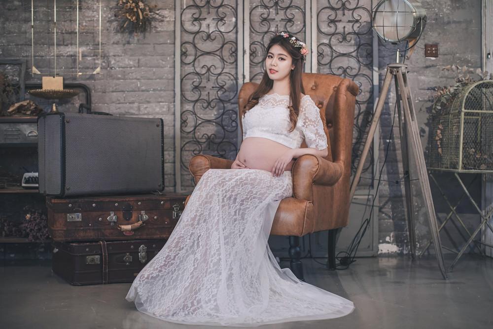 孕婦寫真,地點,新北市三重攝影棚,婚攝