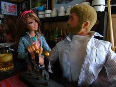 A Busy Night In the 'Arms' (6) (Blondeactionman) Tags: ammoarms actionman bamhq barbie diorama dollphotography onesixth onesixthscale playscale