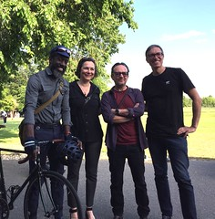 Eric, Jenny, Hector & Rudi (Mr.TinDC) Tags: people friends cyclists happyhours eastpotomacpark hainspoint