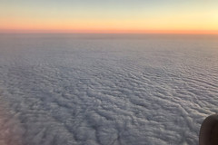 Channel Sunset, February 21st 2019 (Southsea_Matt) Tags: ggatk britishairways ba2633 airbus a320232 iphone7 february 2019 winter aviation windowseat windowview sunset englishchannel