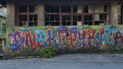 Snek Pyrata 2/2 (ostplp) Tags: exploration vintage ancien abandon abandonné électricité usine industriel industrie friche oublié forgotten decay urbex acierie steel mill graff graffiti tag