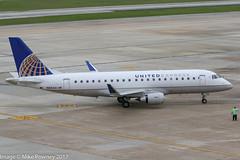 N88341 - 2016 build Embraer 175-200LR, approaching the gate area on arrival at Houston (egcc) Tags: 341 170200lr 17000563 ash bush emb175 embraer embraer175 houston iah intercontinental kiah lightroom n88341 staralliance texas ua ual united unitedairlines unitedexpress
