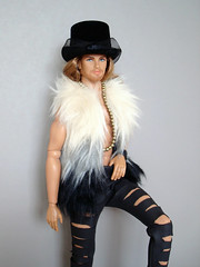 Fantasy style (Deejay Bafaroy) Tags: takeiteasy cruz loverevolution dynamitegirls dynamiteboy homme male fashion royalty fr integrity toys doll puppe colorinfusion necklace hat hut halskette kette portrait porträt vest weste irisapfel