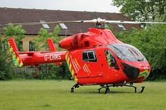 London's Air Ambulance in Acton (kertappa) Tags: img1415 air ambulance londons london hems doctor paramedics hospital glndn emergency helicopter kertappa acton berrymede junior school