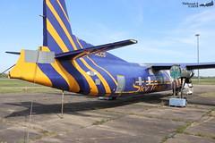 Fokker F-27 -500 Friendship SKYTEAM D-ACCS 10434 Baden avril 2019 (Thibaud.S.) Tags: fokker f27 500 friendship skyteam daccs 10434 baden avril 2019