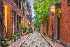 Acorn Street in Boston, Massachusetts (susanjordannortonma) Tags: boston alleyway brick states united acorn america american apartments avenue beacon brownstone city cityscape cobblestone condos dawn downtown dusk england evening hill historic historical lamp lampposts landmark landscape location massachusetts modern neighborhood new place posts red residential road scene scenery scenic skyline street tourism town travel urban usa view way susanjordannortonma susanjordanfoxboroma