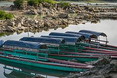 On the Usumacinta River at Frontera.Chiapas (Sonnie in Silver) Tags: frontera mexico guatemala usumacintariver river boats chiapas