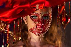 Charlotte (joel.queyrel) Tags: lesswings danseuse cabaret masque