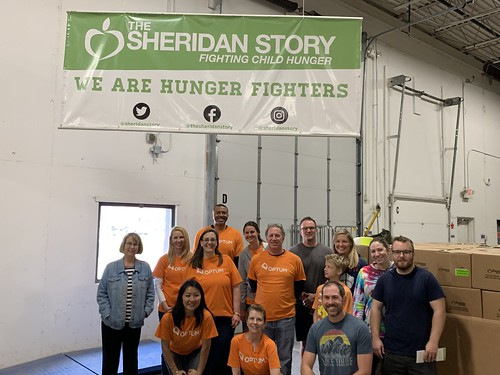 Food Drive Sorting Event 5/17/19