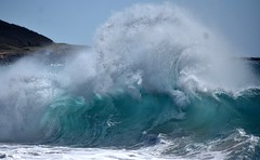 Another big one (thomasgorman1) Tags: wave waves crash breaking shore nikon island molokai hawaii papohaku power nature powerful water sea ocean shoreline