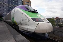 Bruxelles-Midi – TGV ISY ( Rame n° 3213 ex. TMST Eurostar ) (CHABOT Christophe) Tags: bruxellesmidi brusselzuid garedebruxelles garedebrussel stationbrussel isy eurostar exeurostar tmsttgv 3213