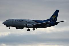 C-GCNU (LAXSPOTTER97) Tags: cgcnu canadian north boeing 737 737300 cn 29140 ln 3013 airport airplane aviation cyvr