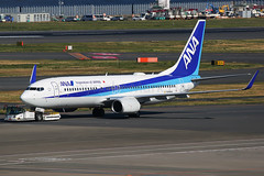ANA Boeing 737-881 JA58AN (Mark Harris photography) Tags: spotting hnd plane aviation canon 5d