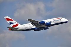 British Airways G-XLEG Airbus A380-841 cn/161 @ EGLL / LHR 16-05-2019 (Nabil Molinari Photography) Tags: british airways gxleg airbus a380841 cn161 egll lhr 16052019