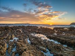 Sarurday Night (stewartbaird) Tags: plimmerton beach newzealand sunset nature sundown sky wellington sea