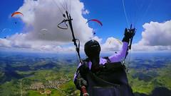 FRANCE - Annecy area (Jacques Rollet (Little Available)) Tags: france annecy paragliding paraglider ciel sky cloud nuage groupenuagesetciel