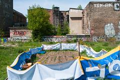 berlin köpenicker straße 2010 (hansfoto) Tags: berlin mitte köpenickerstrase eisfabrik garten spreeufer besetzen graffiti