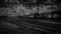 "Train [Explored] 2019-05-19 (bobban25) Tags: canon eos 80d tokina atx 116 pro dx ii 1116mm f28 östergötland sverige sweden scandinavia canoneos80d canon80d norrköping karlsro train tåg blackandwhite bw ""artinbw exposure dark mörk himmel sky manfrotto tripod manfrotto498rc2 tokina111628atxprodxii tokina111628"