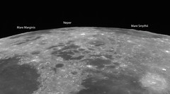 20190514 20-17UT Mare Marginis, Neper crater & Mare Smythii (Roger Hutchinson) Tags: moon maremarginig maresmythii neper space astronomy astrophotography celestron celestronedgehd11 televue powermate asi174mm zwo london