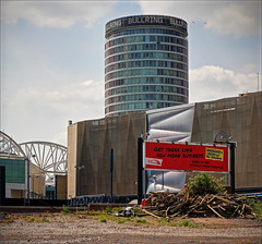 Rotunda from HS2 complex, Birmingham Eastside (alanhitchcock49) Tags: birmingham eastside construction works visit by redditch u3a digital photography group 16 may 2019 west midlands hs2 station site