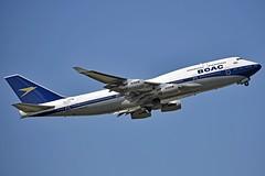 "British Airways G-BYGC Boeing 747-436 cn/25823-1195 Painted in ""BOAC (1964-1974) retro"" special colours 02-2019 @ EGLL / LHR 16-05-2019 (Nabil Molinari Photography) Tags: british airways gbygc boeing 747436 cn258231195 painted boac19641974retro special colours 022019 egll lhr 16052019"