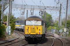 70804 & 56090 at Morpeth (stephen.lewins (1,000 000 UP !)) Tags: grids class70 class56 56090 70804 colas railways ecml morpeth northumberland