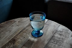 What is this singular existence that comes to light in what is said (dorofoto) Tags: water 365 art quote foucault cup glass drink blue
