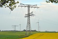 Windkraftanlagen (German Circle) Tags: strom energie energy electricenergy windturbine windturbines