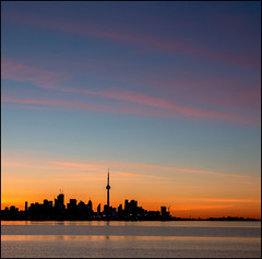 Humber Bay Dawn (Rodrick Dale) Tags: humber bay dawn toronto lake ontario canada sunrise