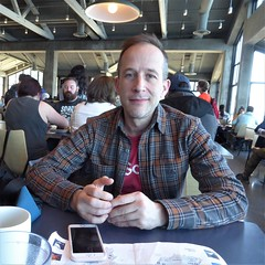 Monterey, CA, Monterey Aquarium, Having Lunch with my Son, Seth (Mary Warren 13.6+ Million Views) Tags: montereyca montereyaquarium cafe lunch