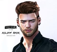 Kilian Hair @ Man cave event (✪Tabou✪Volthair owɴer) Tags: sl hair event mancave volthair