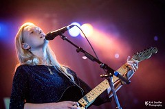 Billie Marten @ Showbox SoDo (Kirk Stauffer) Tags: kirk stauffer photographer nikon d5 adorable amazing attractive awesome beautiful beauty charming cute darling fabulous feminine glamour glamorous goddess gorgeous lovable lovely perfect petite precious pretty siren stunning sweet wonderful young female girl lady woman women live music concert show gig tour lights lighting singer vocals performer musician band group indie long strawberry blonde hair redhead white teeth red lips green eyes model tall short fashion style portrait teen teenage smiling playing electric guitar english