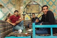 Narguilé (hubertguyon) Tags: iran perse persia asie asia moyen proche orient middle east kerman ville city hammam restaurant narguilé narguile