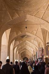 Arcades (hubertguyon) Tags: iran perse persia asie asia moyen proche orient middle east kerman ville city bazar bazaar marché market