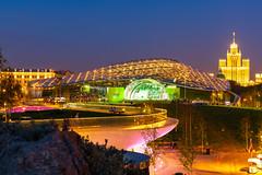 Zaryadye Park (gubanov77) Tags: night city cityscape longexposure zaryadyepark zaryadye park moscow russia urban street streetscape