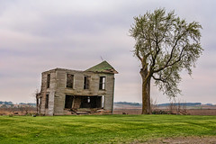 Another Day and A Little More Decay (nikons4me) Tags: farmhouse oldhouse oldbuilding abandoned abandonment decay decaying overcast cloudy nikond200 oncewashome
