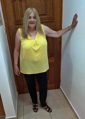 Paphos Cyprus 2019 (HerandMe2019...Please Read Profile) Tags: woman women wife female mature milf granny older 60something people portrait pose photography pretty blonde beautiful british smile classy elegant cyprus paphos europe travel holiday vacation fashion