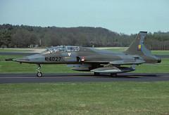 NF-5B K-4027 - RNethAF 315Sqn 850422 Soesterberg (Nikon Photographer NL) Tags: rnethafnavy military dutch nederlands aviation