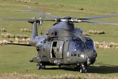 ZJ135_EH101MerlinMk3_RoyalNavyCHF_TenTors_Img06 (Tony Osborne - Rotorfocus) Tags: leonardo agustawestland aw101 eh101 merlin royal navy air fleet helicopter okehampton chf force tors 2019 ten commando arm