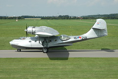 PBY-5A 16-218 (PH-PBY) - RNethNavy:Stichting Exploitatie Catalina 050828 Lelystad 1006 (Nikon Photographer NL) Tags: rnethafnavy military dutch nederlands aviation