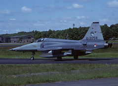 NF-5A K-3058 - RNethAF 313Sqn 850529 Soesterberg (Nikon Photographer NL) Tags: rnethafnavy military dutch nederlands aviation