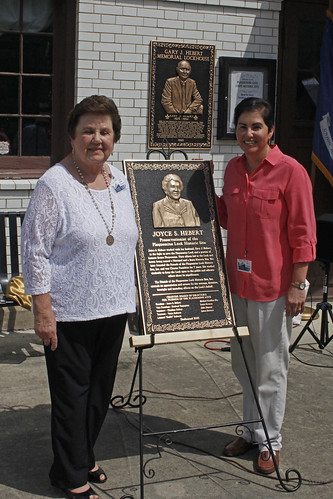 Joyce and Ellie Hebert