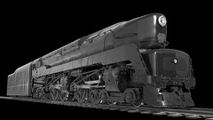PRR 4-4-4-4 T-1 5550 Steam Locomotive Animation Black And White! (844steamtrain) Tags: 844steamtrain prr 5550 t1 trust up 4014 big boy sp 4449 844 flying scotsman thomas the tank engine union pacific steam locomotive train trains travel tourism adventure events science technology history metal machine railroad railway photography photo youtube google facebook flickr most popular video videos trump news new trending relevant recommended related viewed views shared galore viral culture camera biggest largest heaviest best