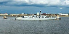 L2019_1200 - HMS Northumberland - River Mersey - May 18, 2019 (www.jhluxton.com - John H. Luxton Photography) Tags: 2019 england hmsnorthumberland irishseashipping johnhluxtonphotography leica leicavlux3 liverpool mersey merseyshipping merseyside rivermersey type23 type23frigate uk ship shipping warship wwwjhluxtoncom f238